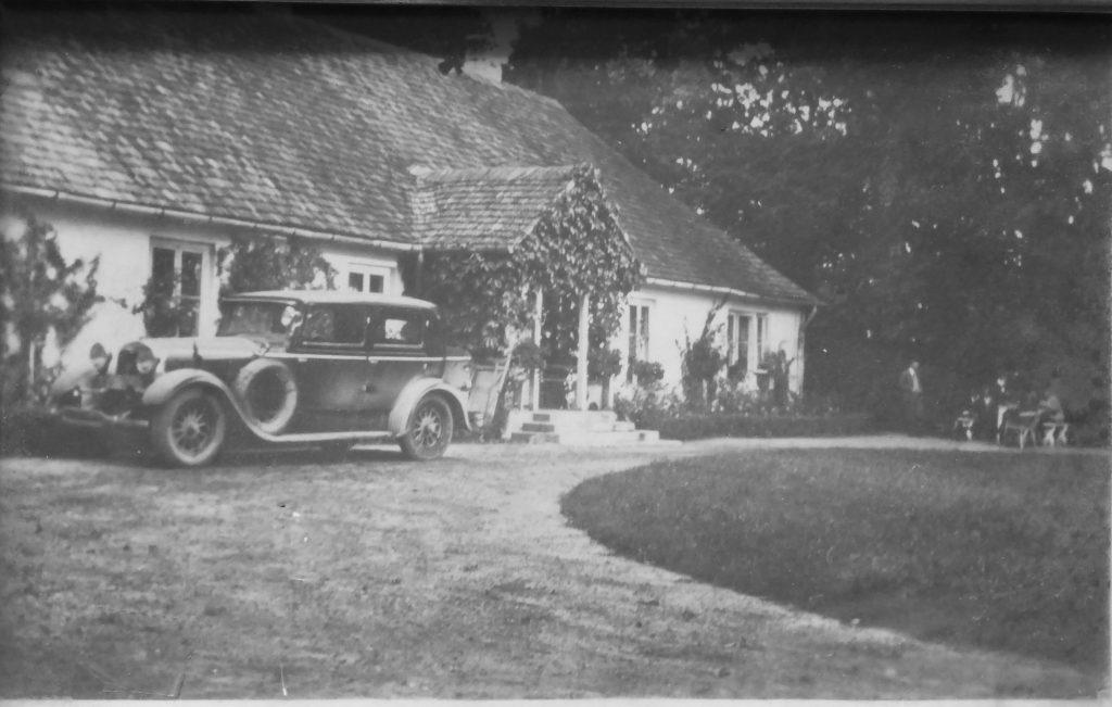 Dwór wOsmolicach nadWieprzem przed1939 rokiem