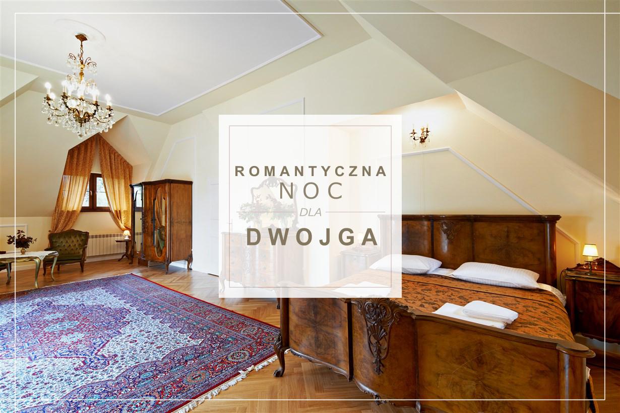 Romantyczna noc dla Dwojga - Dwór Osmolice